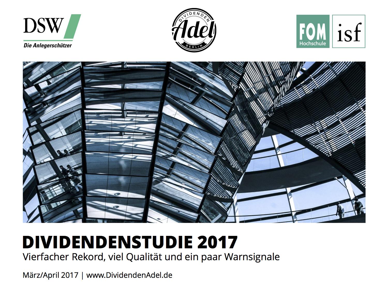 DividendendAdel Dividendenstudie Deutschland 2017